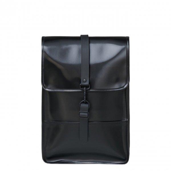 Rains Backpack Mini shiny black backpack