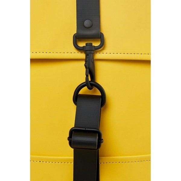 Rains Original Backpack yellow backpack van Polyester