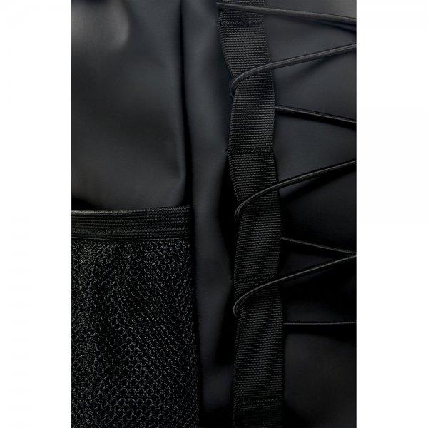 Rains Original Mountaineer Bag black backpack van Polyester