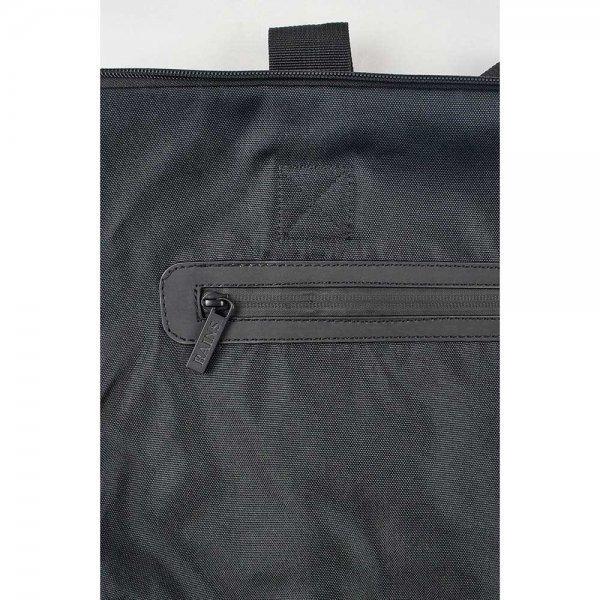 Rains Original Tote Bag black Damestas van PU