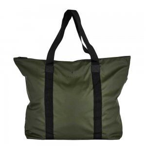 Rains Original Tote Bag green Damestas