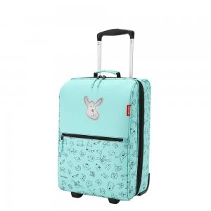Reisenthel Kids Trolley XS Cats and Dogs mint Kinderkoffer