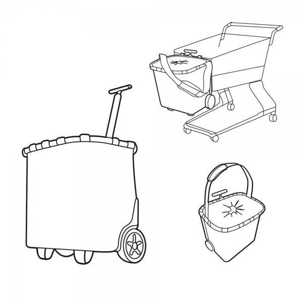 Reisenthel Shopping Carrycruiser dark blue Trolley van Polyester