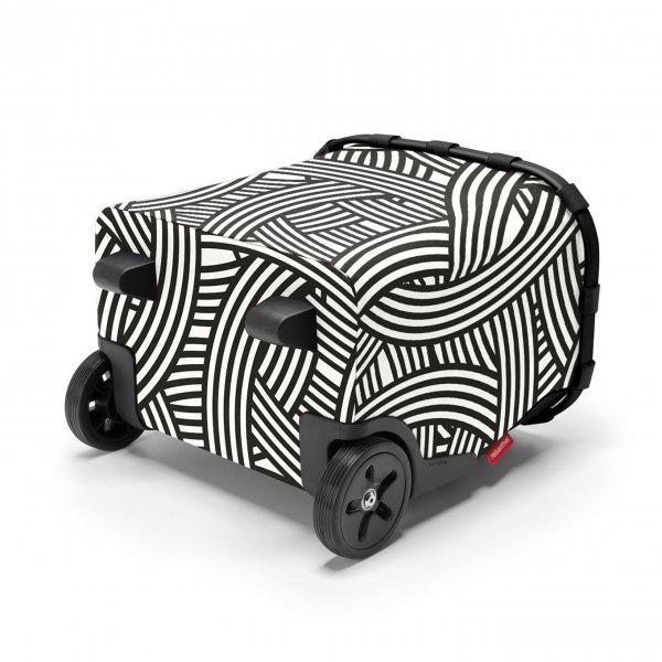Reisenthel Shopping Carrycruiser zebra Trolley van Polyester