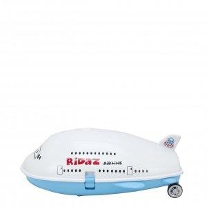 Ridaz Kids Travel Case Vliegtuig white Kinderkoffer