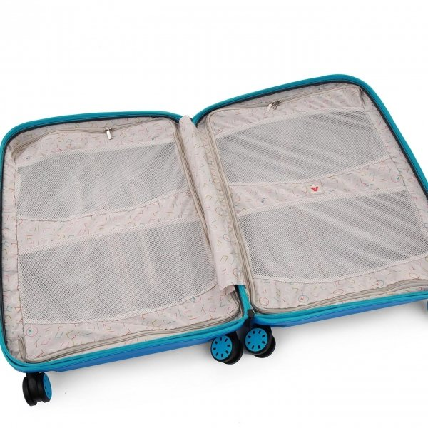Roncato Box 2.0 Young 4 Wiel Cabin Trolley 55/20 anice Harde Koffer van Polypropyleen