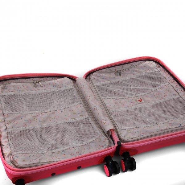 Roncato Box 2.0 Young 4 Wiel Cabin Trolley 55/20 fragola Harde Koffer van Polypropyleen