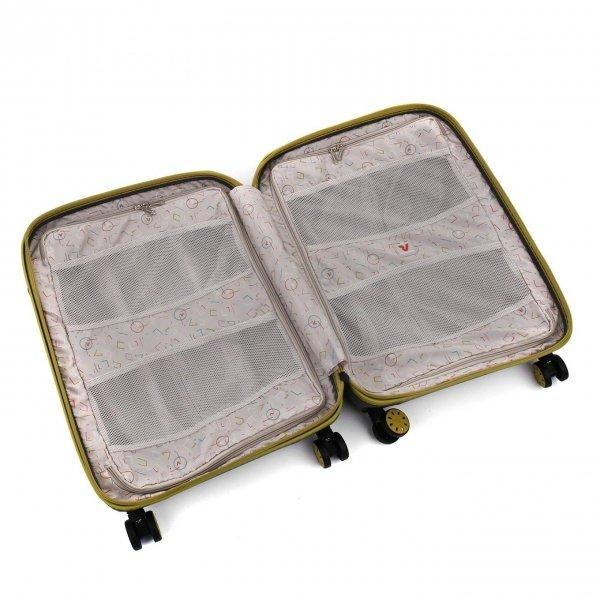 Roncato Box 2.0 Young 4 Wiel Cabin Trolley 55/20 kiwi Harde Koffer van Polypropyleen