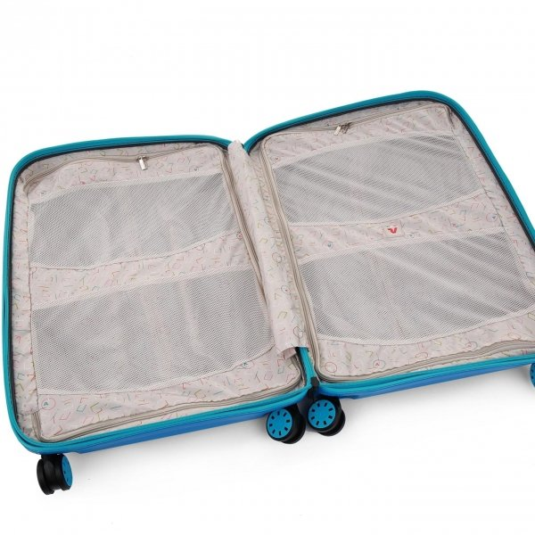 Roncato Box 2.0 Young Large 4 Wiel Trolley 78 anice Harde Koffer van Polypropyleen