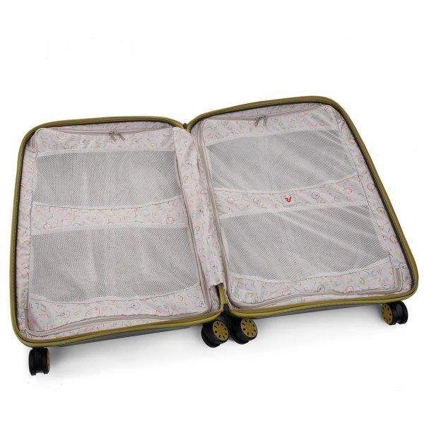 Roncato Box 2.0 Young Large 4 Wiel Trolley 78 kiwi Harde Koffer van Polypropyleen