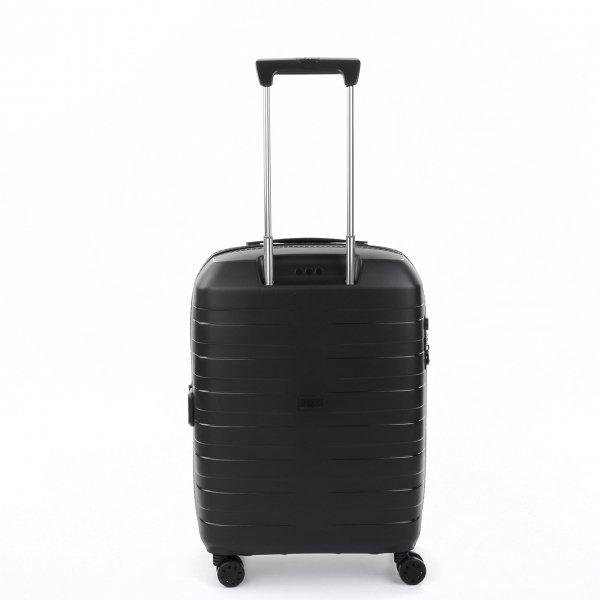 Roncato Box 4.0 4 Wiel Cabin Trolley 55/20-23 nero Harde Koffer van Polypropyleen
