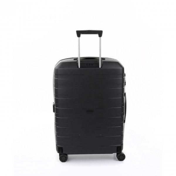 Roncato Box 4.0 Medium 4 Wiel Trolley 69 nero Harde Koffer van Polypropyleen