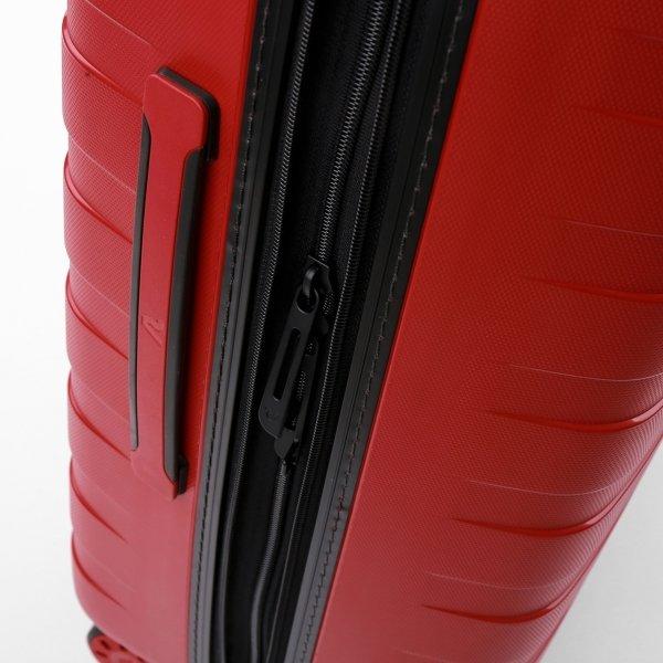 Roncato Box 4.0 Medium 4 Wiel Trolley 69 rosso Harde Koffer