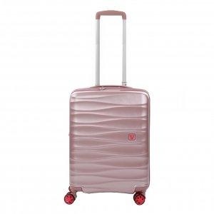 Roncato Stellar 4 Wiel Cabin Trolley Exp rosa Harde Koffer