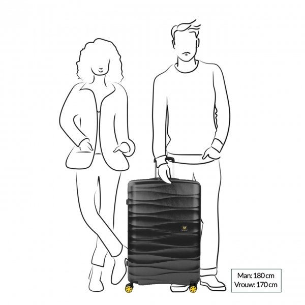 Koffers van Roncato