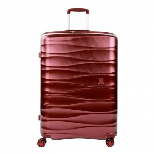 Roncato Stellar Large 4 Wiel Trolley Exp rosso scuro Harde Koffer