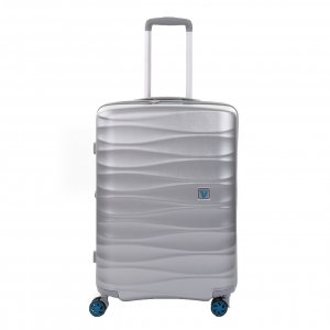 Roncato Stellar Medium 4 Wiel Trolley Exp silver Harde Koffer