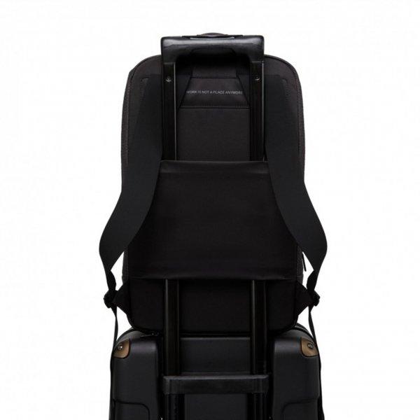 Salzen Savvy Daypack ash grey backpack van Polyester