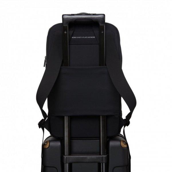 Salzen Savvy Daypack black/phantom backpack van Polyester