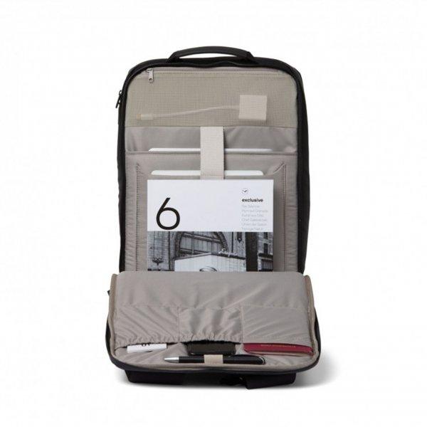 Salzen Sharp Business Backpack black/phantom backpack van Nylon