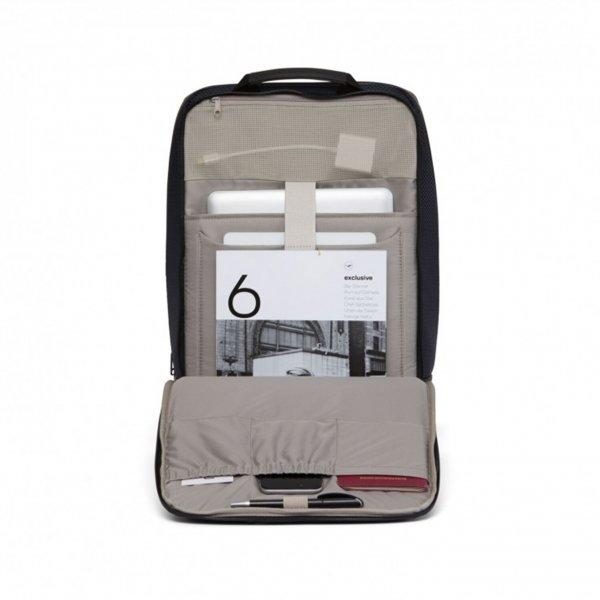 Salzen Sharp Business Backpack knight blue backpack van Nylon