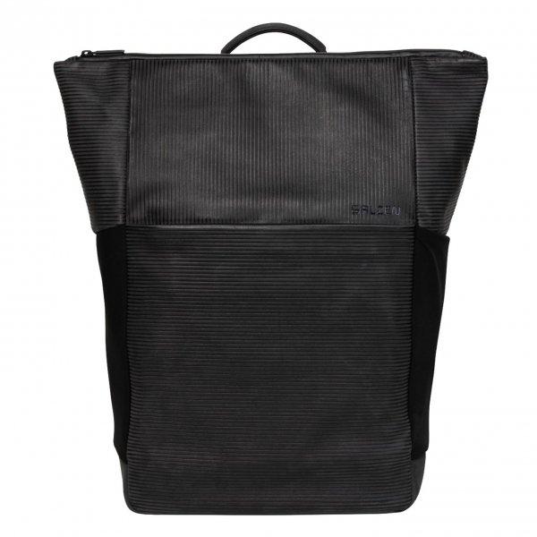 Salzen Vertiplorer Plain Backpack Leather aligned smoke backpack