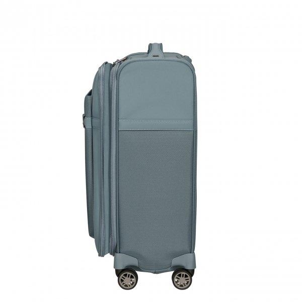 Samsonite Airea Spinner 55 Exp Lenght 35 cm smoke blue Zachte koffer