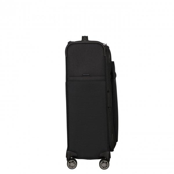 Samsonite Airea Spinner 67 Exp black Zachte koffer van Polyester