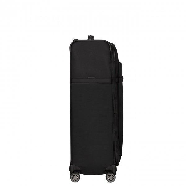 Samsonite Airea Spinner 78 Exp black Zachte koffer van Polyester
