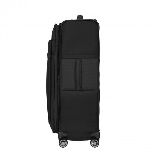 Samsonite Airea Spinner 78 Exp black Zachte koffer