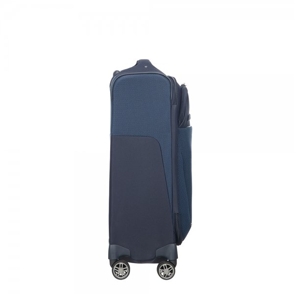 Samsonite B-Lite Icon Spinner 55 Length 40 dark blue Zachte koffer van Polyester