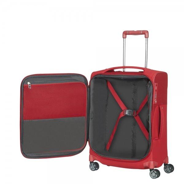 Samsonite B-Lite Icon Spinner 55 Length 40 red Zachte koffer van Polyester
