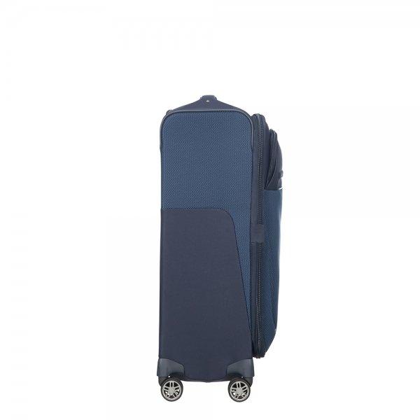 Samsonite B-Lite Icon Spinner 63 Expandable dark blue Zachte koffer van Polyester