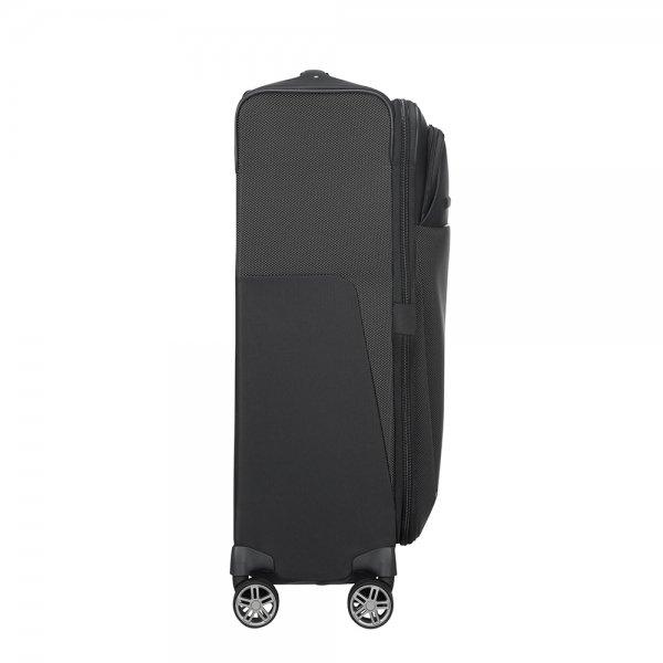 Samsonite B-Lite Icon Spinner 71 Expandable black Zachte koffer van Polyester