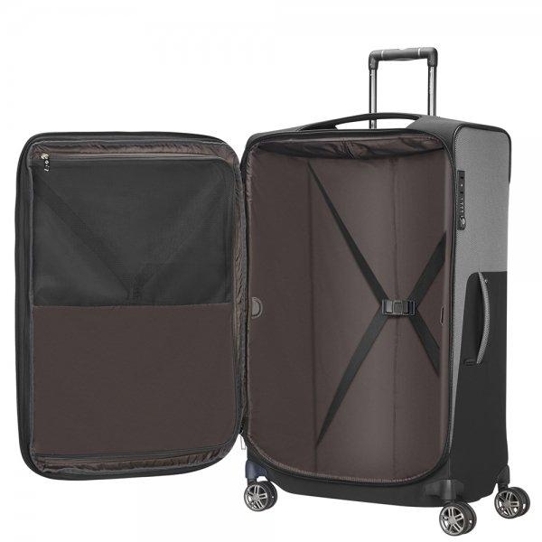 Samsonite B-Lite Icon Spinner 71 Expandable black Zachte koffer