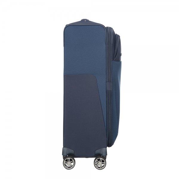 Samsonite B-Lite Icon Spinner 71 Expandable dark blue Zachte koffer van Polyester