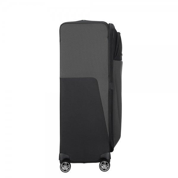 Samsonite B-Lite Icon Spinner 83 Expandable black Zachte koffer van Polyester