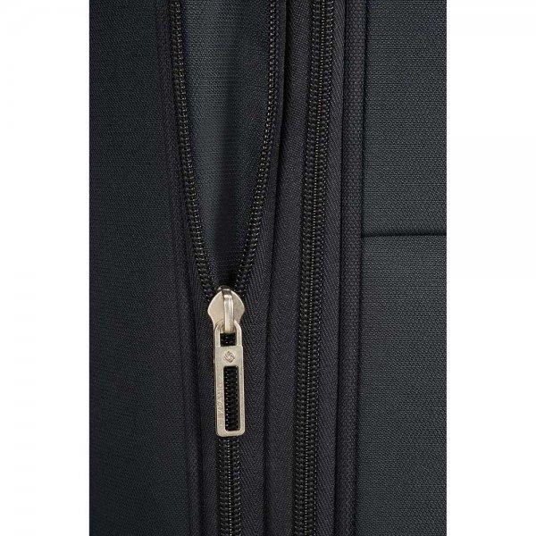 Samsonite Base Boost Spinner 78 Expandable black Zachte koffer van Polyester