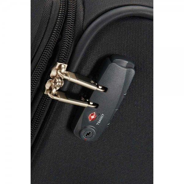 Samsonite Base Boost Spinner 78 Expandable black Zachte koffer