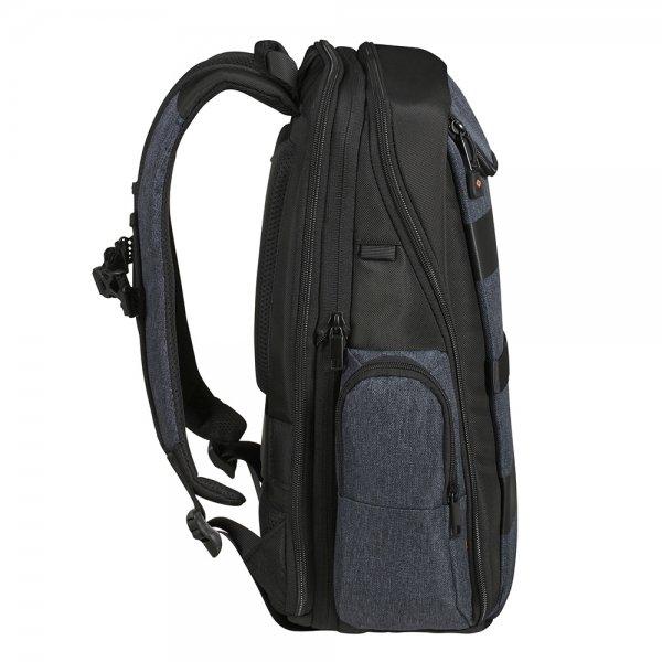 Samsonite Bleisure Backpack 15.6'' Exp Daytrip dark blue backpack van Polyester