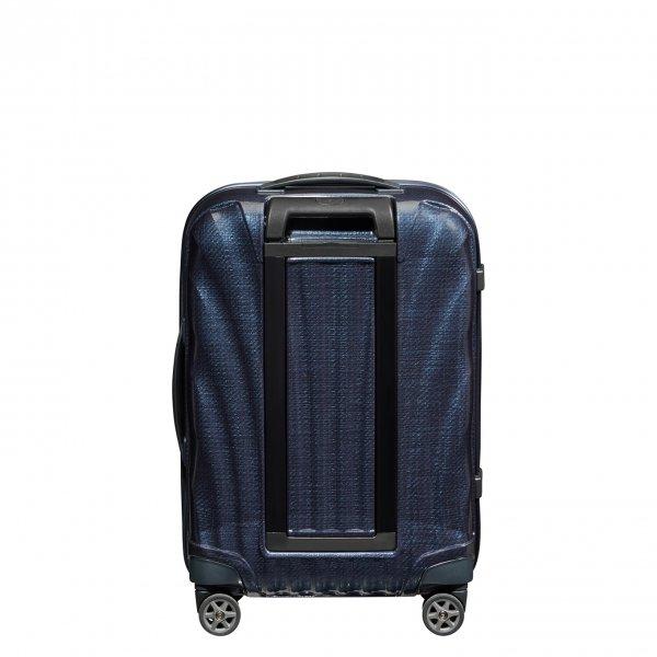 Samsonite C-Lite Spinner 55 midnight blue Harde Koffer van Curv