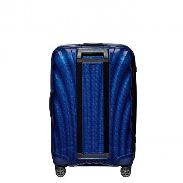 Samsonite C-Lite Spinner 69 deep blue Harde Koffer van Curv