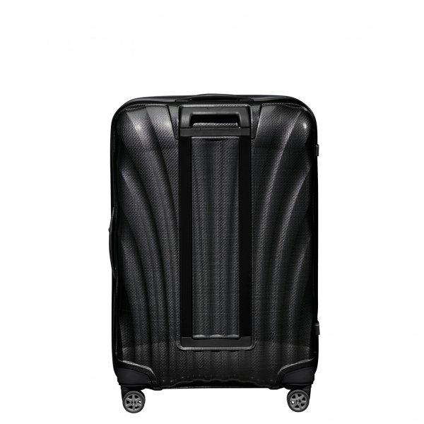 Samsonite C-Lite Spinner 75 black Harde Koffer van Curv