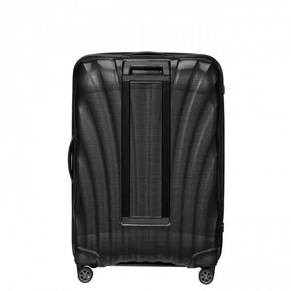 Samsonite C-Lite Spinner 81 black Harde Koffer van Curv