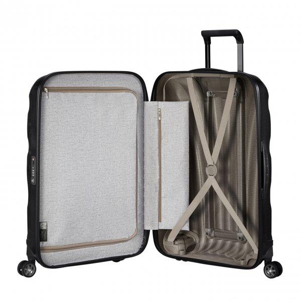 Samsonite C-Lite Spinner 81 black Harde Koffer