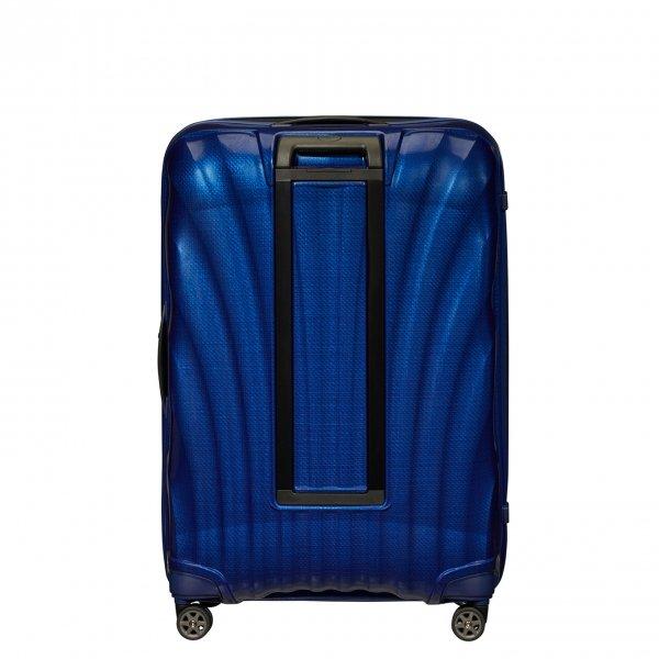 Samsonite C-Lite Spinner 81 deep blue Harde Koffer van Curv