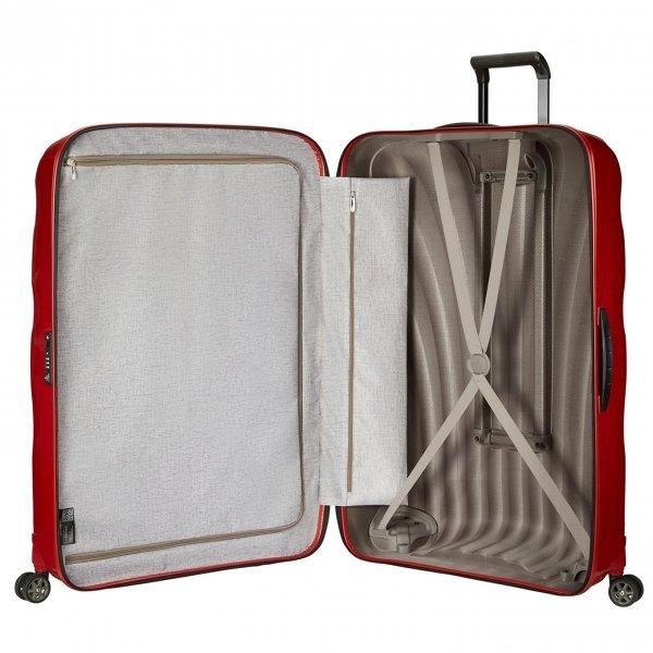 Samsonite C-Lite Spinner 86 chili red Harde Koffer