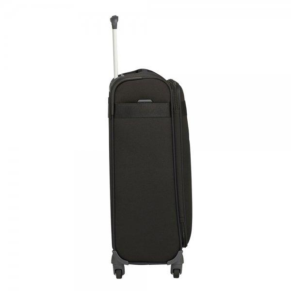 Samsonite Citybeat Spinner 55/35 black Zachte koffer van Polyester