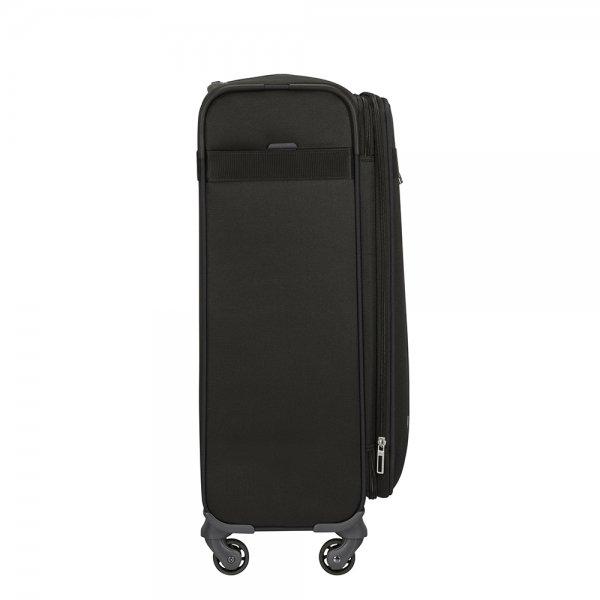 Samsonite Citybeat Spinner 66 Exp black Zachte koffer van Polyester