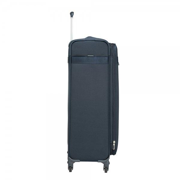 Samsonite Citybeat Spinner 78 Exp navy blue Zachte koffer van Polyester